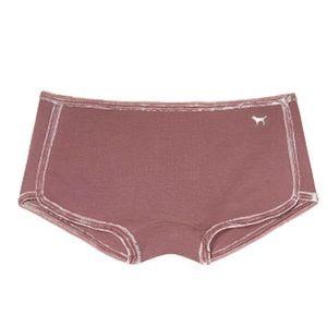 New Victoria's Secret PINK Velvet Trim Boyshort XS